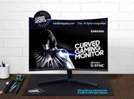 ВРоссии вышел изогнутый 240-герцовый игровой монитор Samsung CRG5