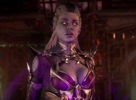 Вышел геймплейный ролик Mortal Kombat 11 сСиндел. Она срывает кожу сврагов своим криком!