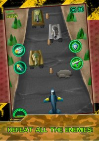 Angry Planes Military Battle - A Military Plane Run Game – фото обложки игры