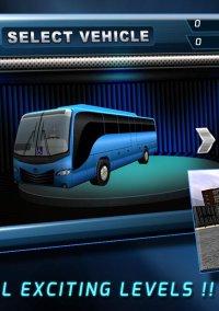 3D Bus Parking Simulation Game – фото обложки игры