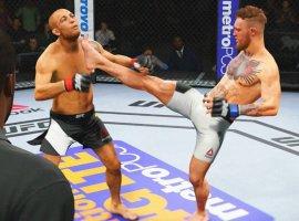Гифка дня: мастерский захват вEASports UFC2