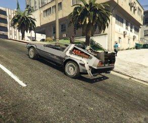Гифка дня: очень странная версия «Назад вбудущее» вGrand Theft Auto5
