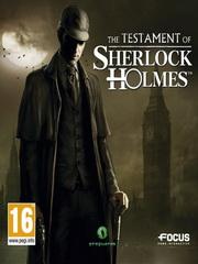 The Testament of Sherlock Holmes – фото обложки игры