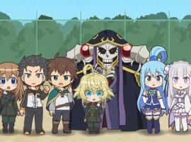 Нужно больше «попаданцев»— аниме Isekai Quartet получит второй сезон