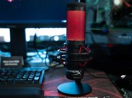 Kingston выпустила первый игровой микрофон под брендом HyperX. Новинку назвали Quadcast
