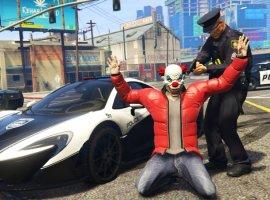 Гифка дня: задержание «опасного» преступника в Grand Theft Auto5