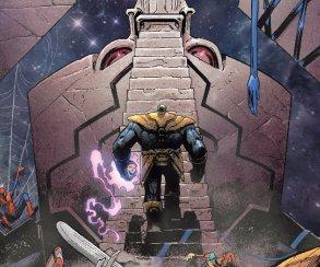 Вкомиксе про Таноса появился Призрачный гонщик избудущего, и, похоже, мызнаем кто он