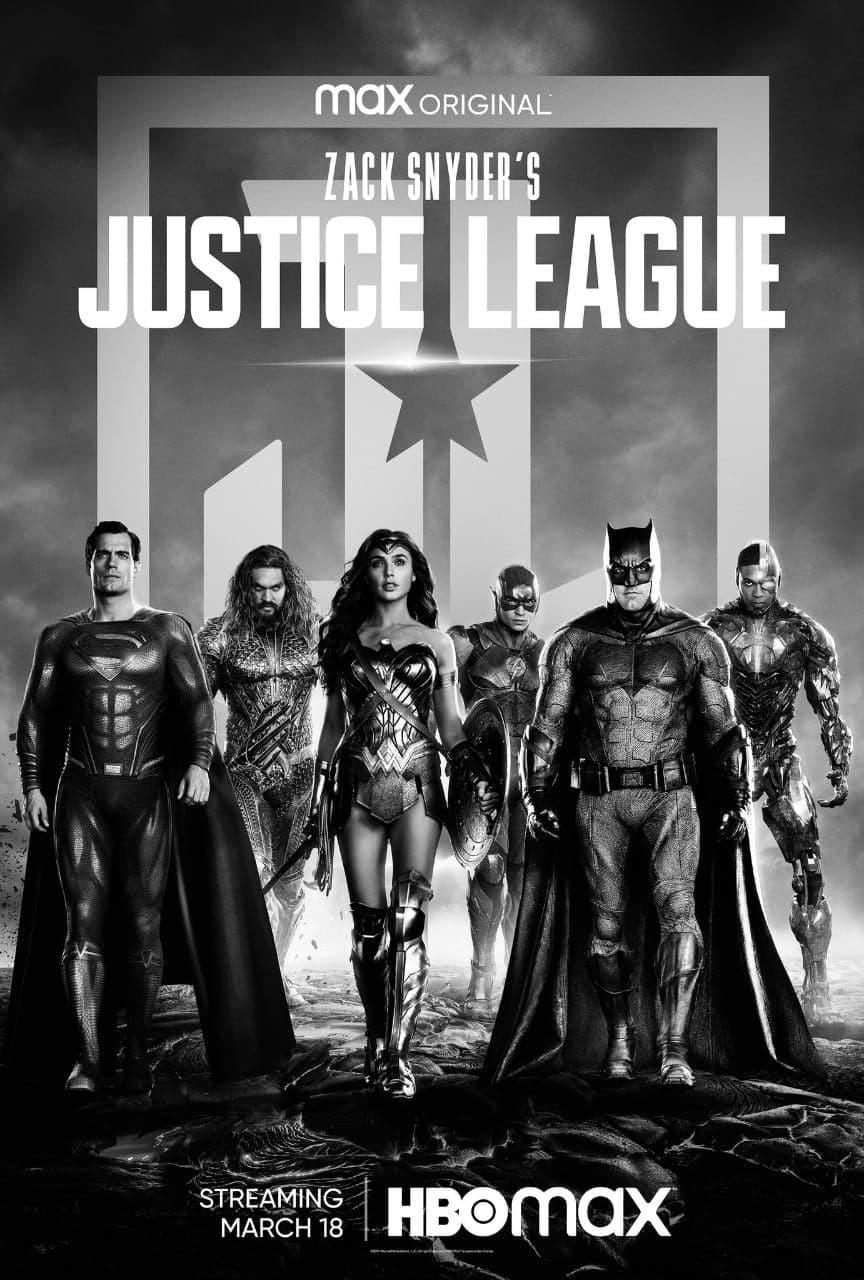 Появился новый черно-белый постер «Лиги справедливости» Зака Снайдера