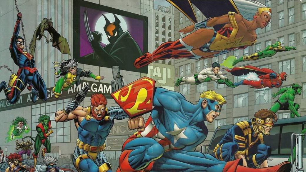 10 крутых супергероев-гибридов изкроссовера Marvel иDC— Amalgam Comics   Канобу