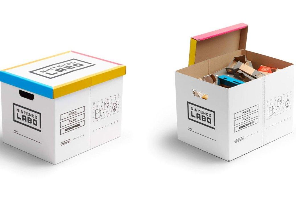 Nintendo выпустит картонную коробку для хранения картонного конструктора Labo. Все логично! | Канобу - Изображение 1428