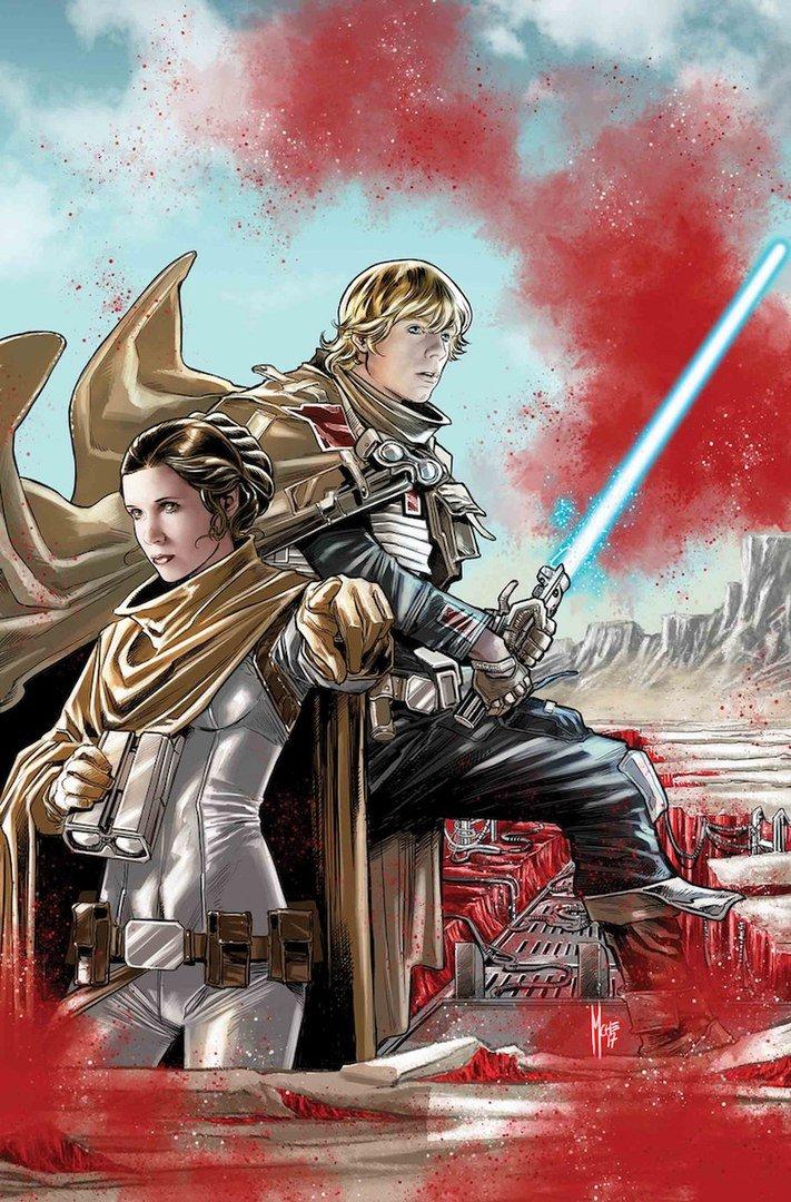 Книги и комиксы: Приквел «Последних джедаев» воссоединит Люка Скайуокера и Лею Органу