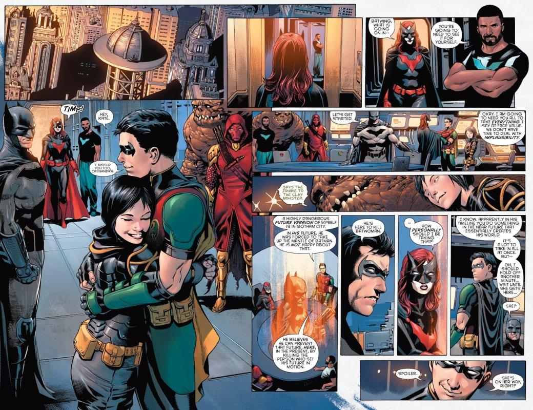 Бэтмен будущего, данетот: как два Тима Дрейка встретились настраницах комикса DC   Канобу - Изображение 5048
