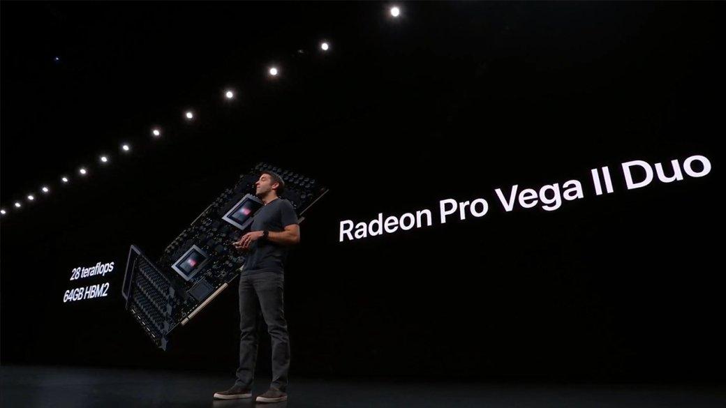 AMD представила Radeon Pro Vega IIиPro Vega IIDuo: мощные видеокарты для топовых сборок   Канобу - Изображение 6800