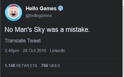 Разработчики считают, что No Man's Sky была ошибкой? [обновлено] | Канобу - Изображение 1