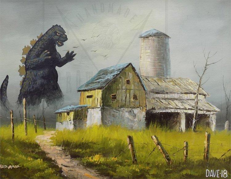 Художник добавляет элементы фантастических фильмов назаурядные пейзажи   Канобу - Изображение 4121