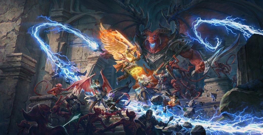 Мрачная атмосфера, демоны иновые классы: первые подробности Pathfinder: Wrath ofthe Righteous   Канобу - Изображение 0