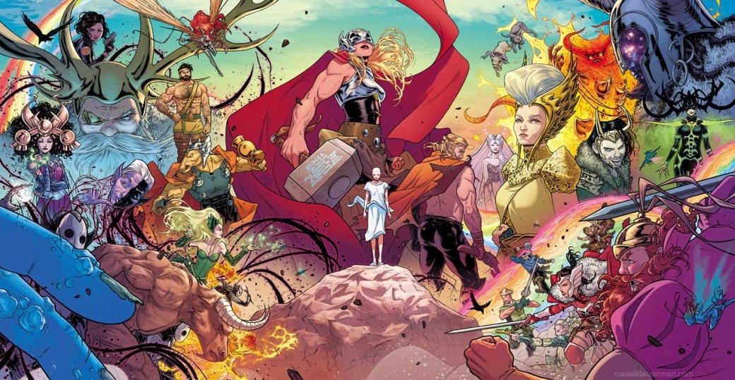 Как ипочему Джейн Фостер стала новым Тором настраницах комиксов Marvel?. - Изображение 1