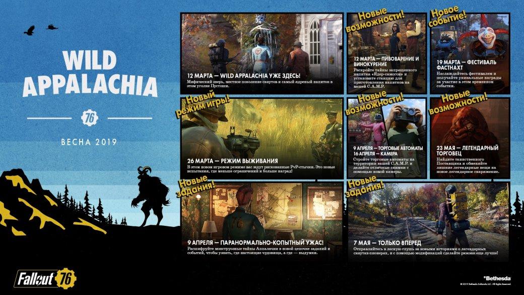 Bethesda поделилась планами на будущее Fallout 76. В этом году студия выпустит три крупных патча   Канобу - Изображение 3