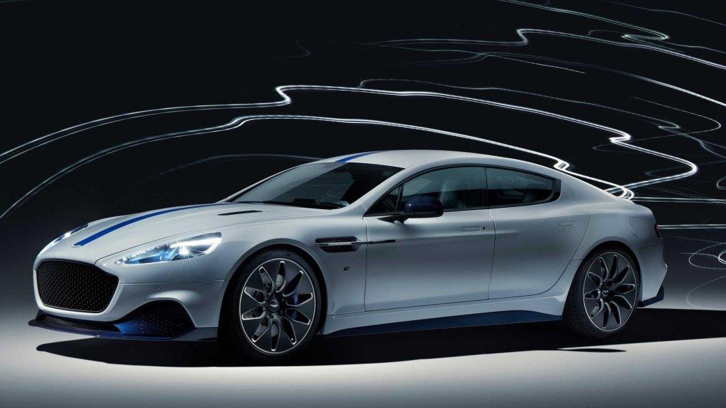 Для будущего Джеймса Бонда: Aston Martin представила свой первый спортивный электрокар Rapide E | Канобу - Изображение 3578