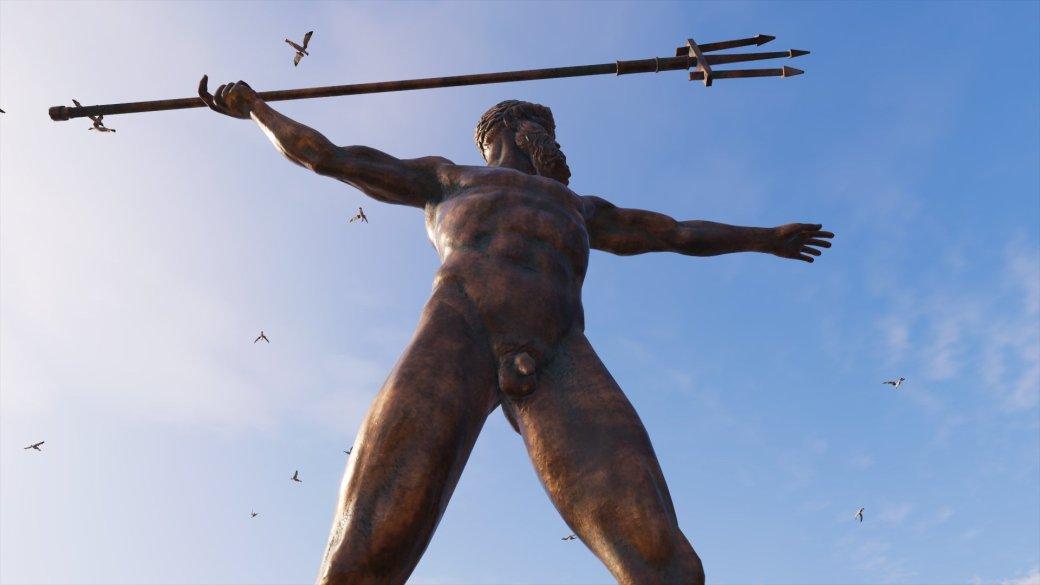 Журналист PCGamer составил топ пенисов изAssassin's Creed Odyssey— речь, конечно, остатуях | Канобу - Изображение 7