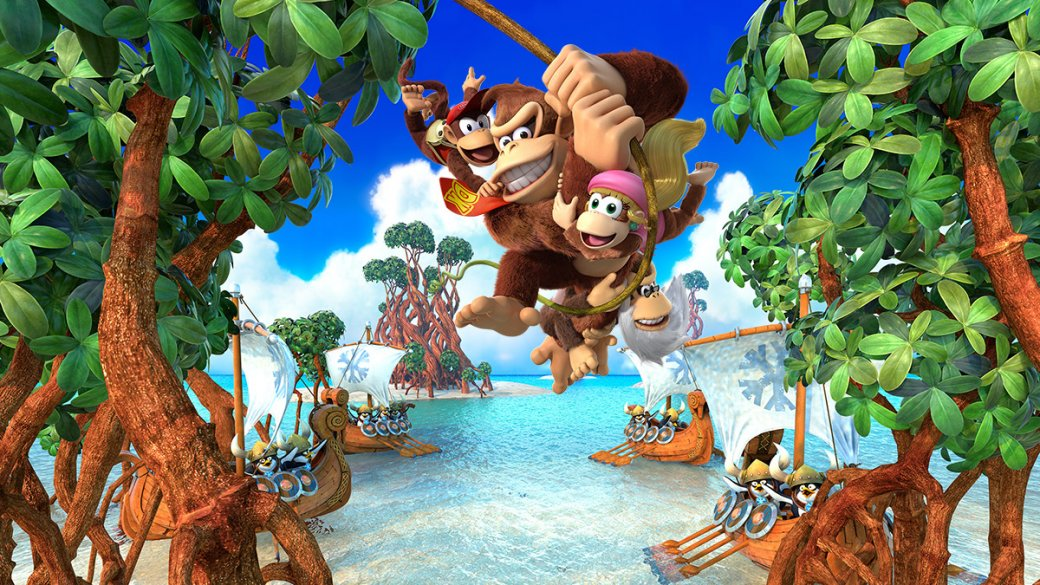 Обзор Donkey Kong Country: Tropical Freeze - рецензия на игру Donkey Kong Country: Tropical Freeze | Рецензии | Канобу