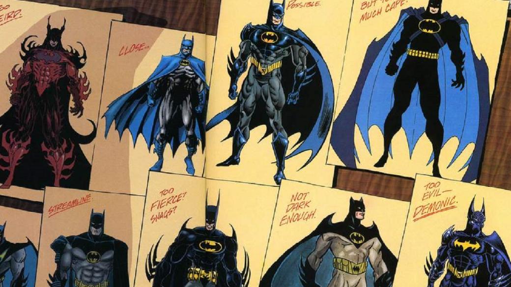 Галерея костюмов Темного Рыцаря— как сгодами менялся образ Бэтмена?   Канобу