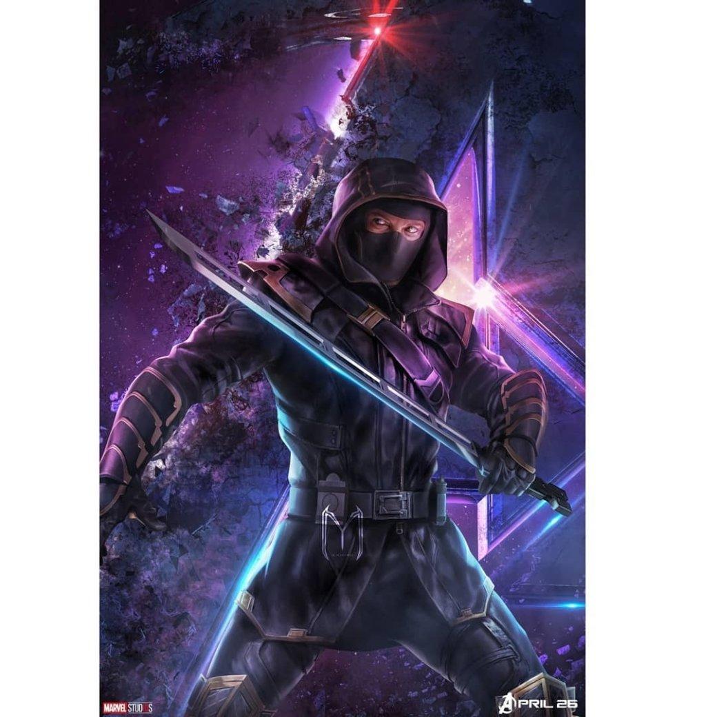 Очень много новых промо-артов по«Мстителям: Финал» (есть даже сновой броней Таноса!)   Канобу - Изображение 6365