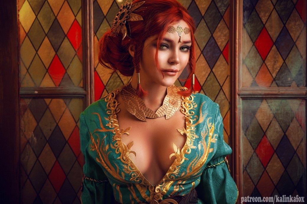 Соблазнительная иочаровательная Трисс Меригольд вновом косплее «Ведьмака»
