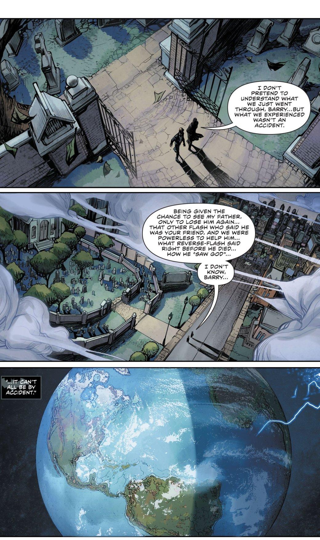 Куда привела Бэтмена и Флэша загадка значка Комедианта?. - Изображение 20