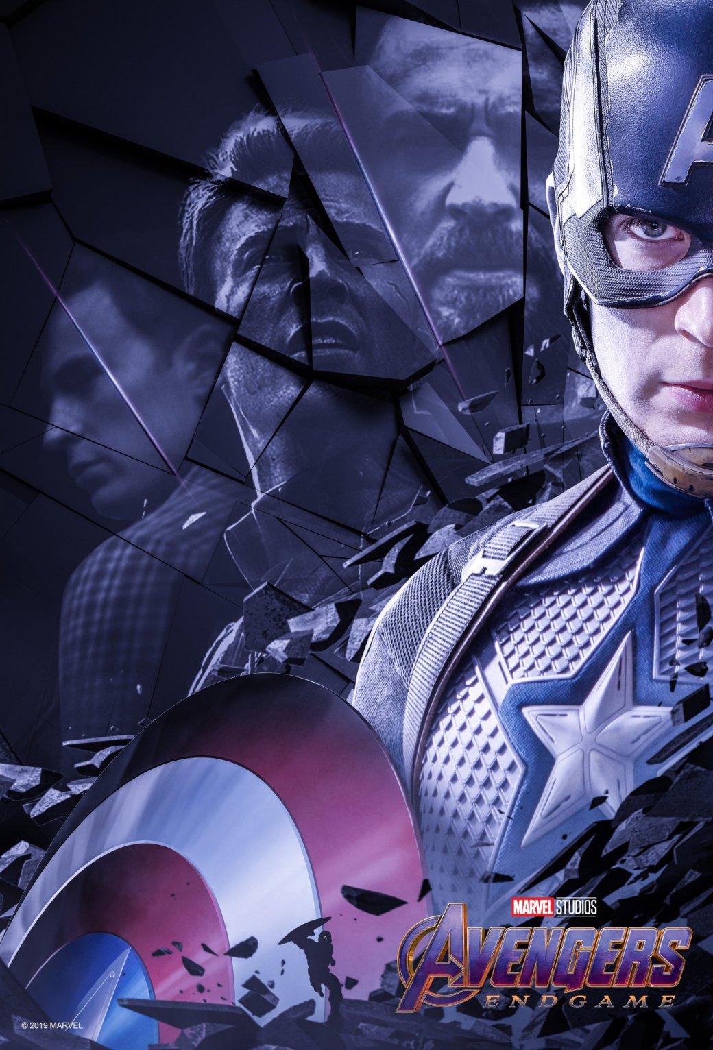 Новые постеры «Мстителей: Финал» отBossLogic посвящены долгому пути оригинальной шестерки вMCU | Канобу - Изображение 3