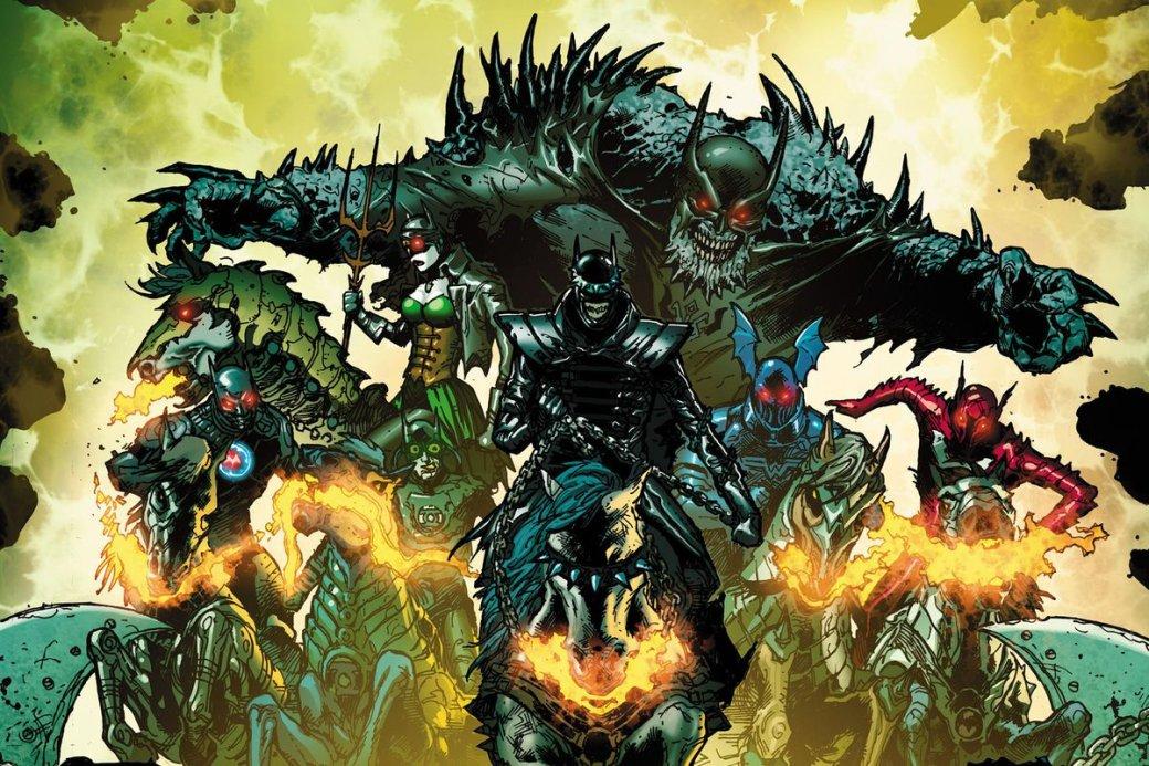Бэтмен иLumen: как российская группа написала музыку для комикса озлых Темных рыцарях | Канобу