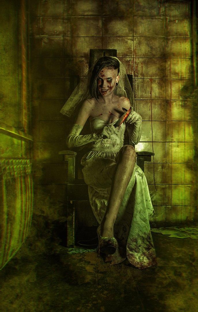 Косплей дня: жуткая невеста из игры Outlast: Whistleblower. - Изображение 2