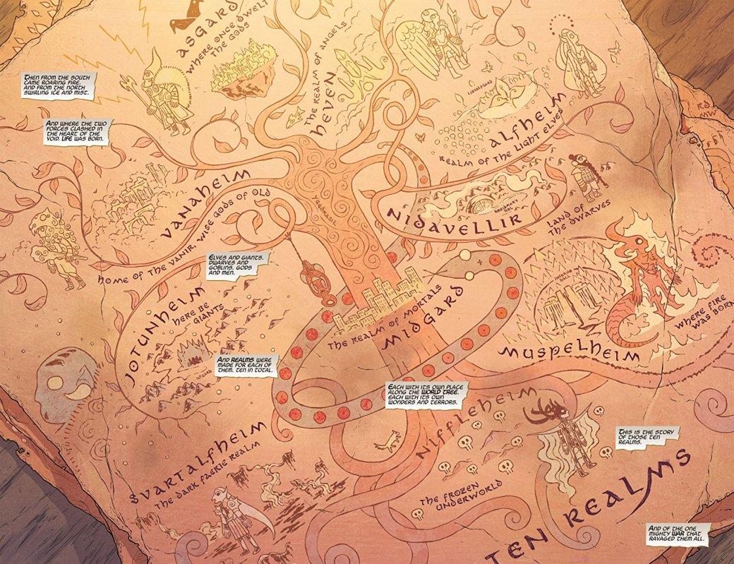 Мифология скандинавов вкомиксах Marvel— отТора иего окружения доисторий вроде War ofthe Realms