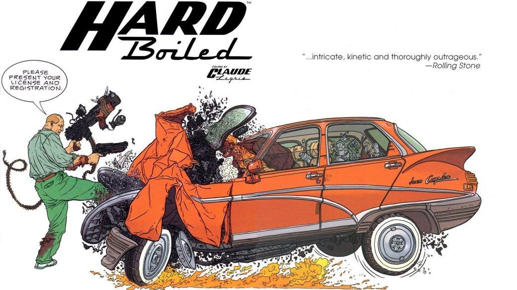 Комикс недели: Hard Boiled   Канобу - Изображение 1