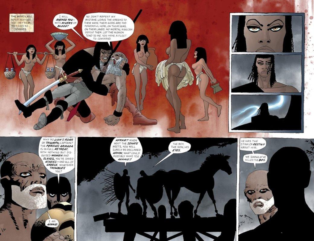Что нетак с«Ксерксом» Фрэнка Миллера— сомнительным приквелом к«300 спартанцев» | Канобу - Изображение 9650