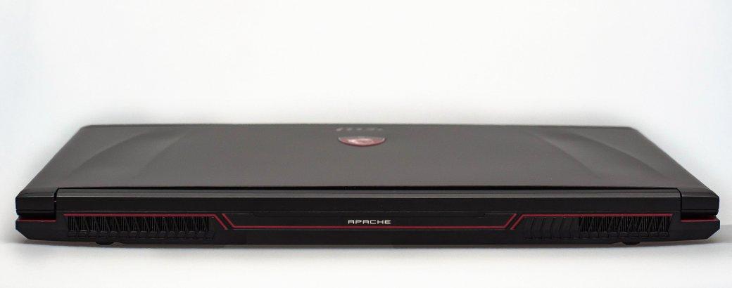 Обзор игрового ноутбука MSI GE72 Apache Pro | Канобу - Изображение 5