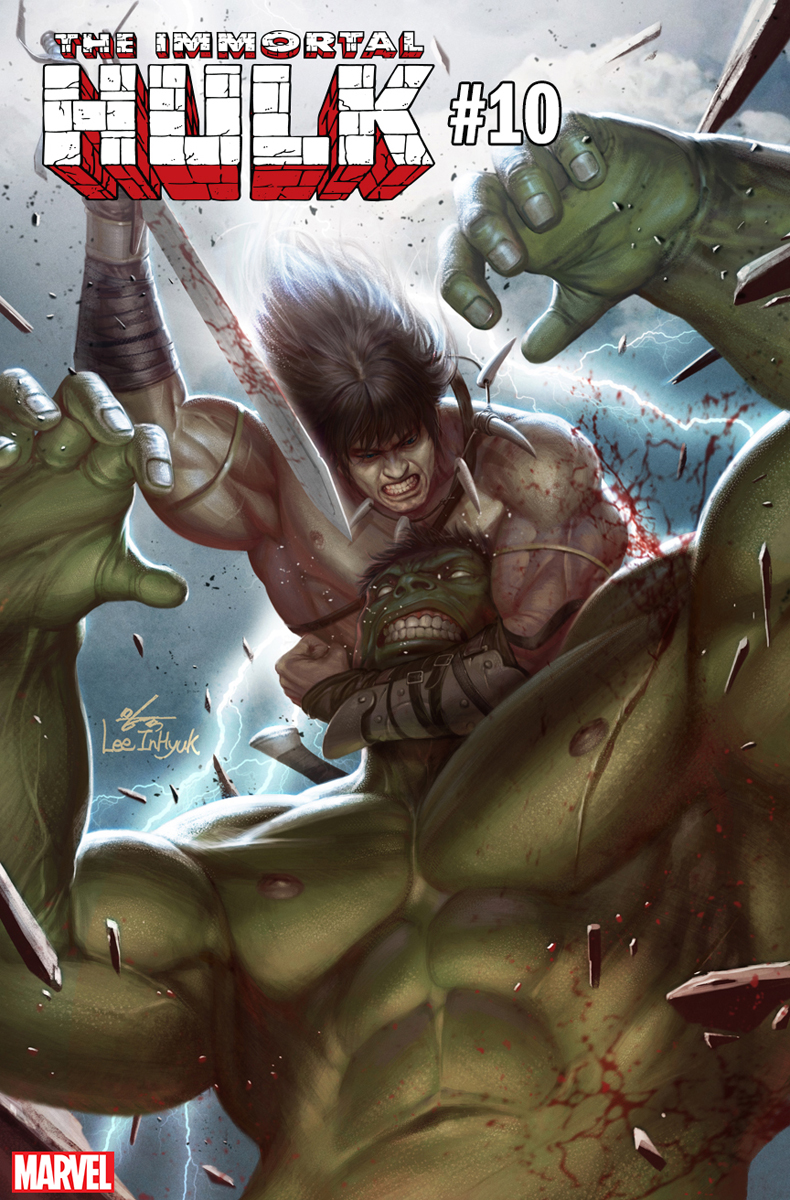 Конан-Варвар сразился ссупергероями Marvel, нолишь навариативных обложках | Канобу - Изображение 4348