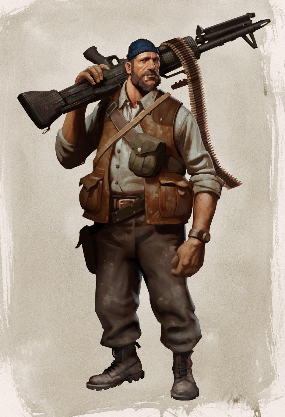 Утечка: первые концепт-арты персонажей изLeft 4 Dead3   Канобу - Изображение 3