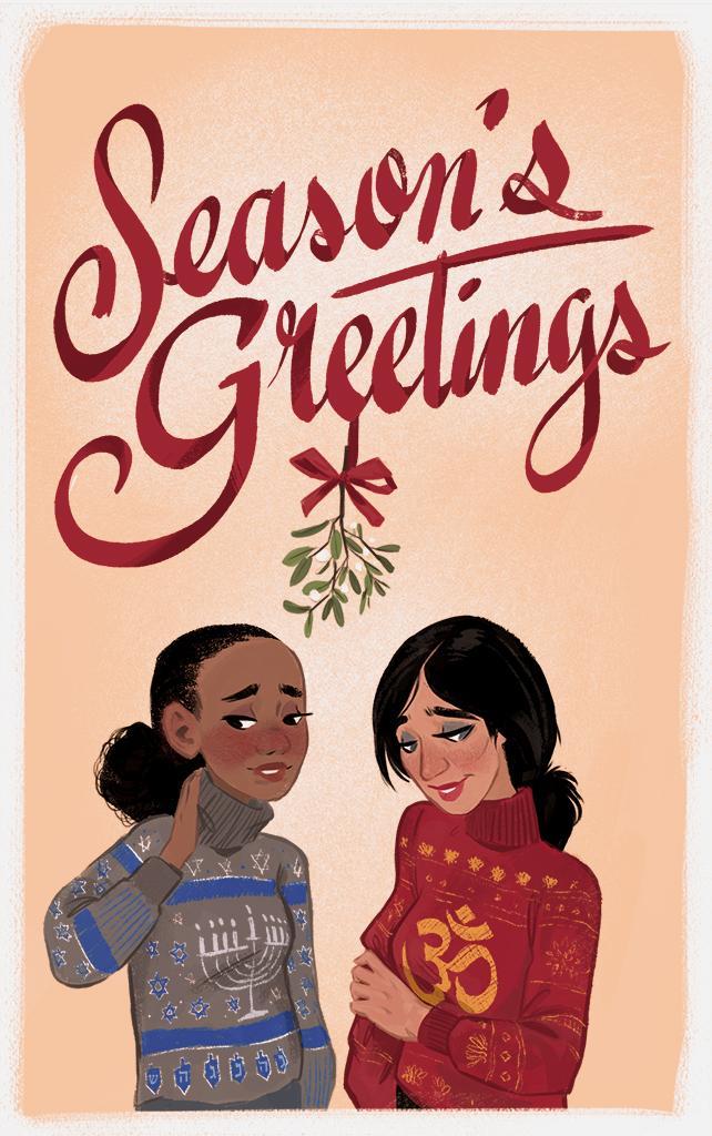 С праздниками! Подборка рождественских и новогодних открыток от игровых разработчиков. - Изображение 6