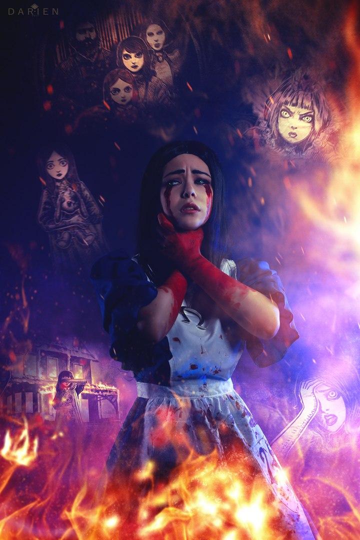 Косплей дня: Алиса Лидделл из игры Alice: Madness Returns. - Изображение 8