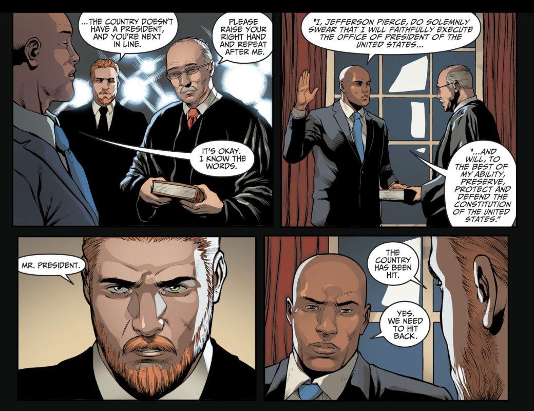 10 безумных вещей изприквела Injustice 2: президент-супергерой, двойник Бэтмена, свадьба злодеев | Канобу - Изображение 6587