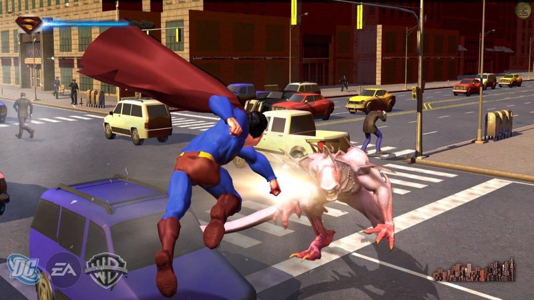 Можно ли сделать интересную игру про Супермена в духе Arkham-серии?  | Канобу - Изображение 8