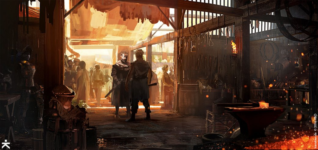 Взгляните напотрясающие концепт-арты 7 сезона «Игры престолов». - Изображение 9