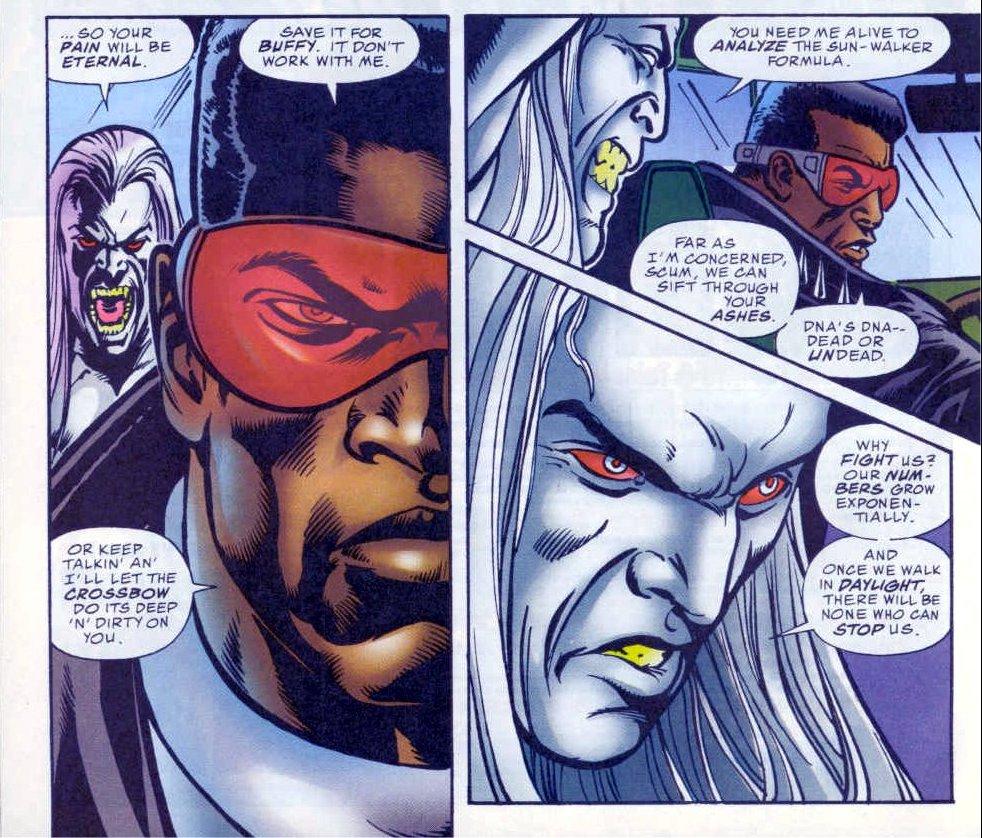 Кто такой Блэйд? Отохотника навампиров дочлена Мстителей исоюзника Людей Икс | Канобу - Изображение 143