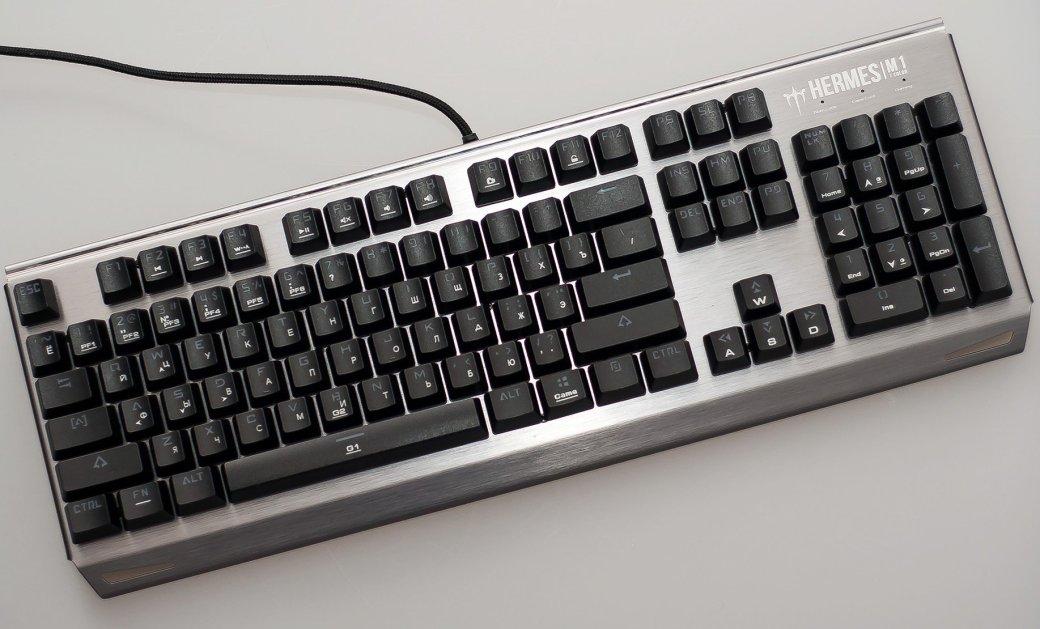 Обзор клавиатуры Gamdias Hermes M1: недорогая механика сподсветкой | Канобу - Изображение 5983