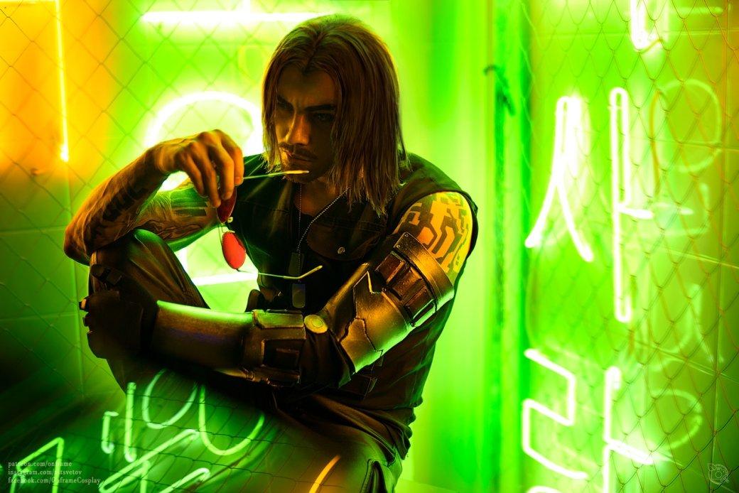Захватывающий дух косплей персонажа Киану Ривза изCyberpunk 2077 | Канобу - Изображение 3