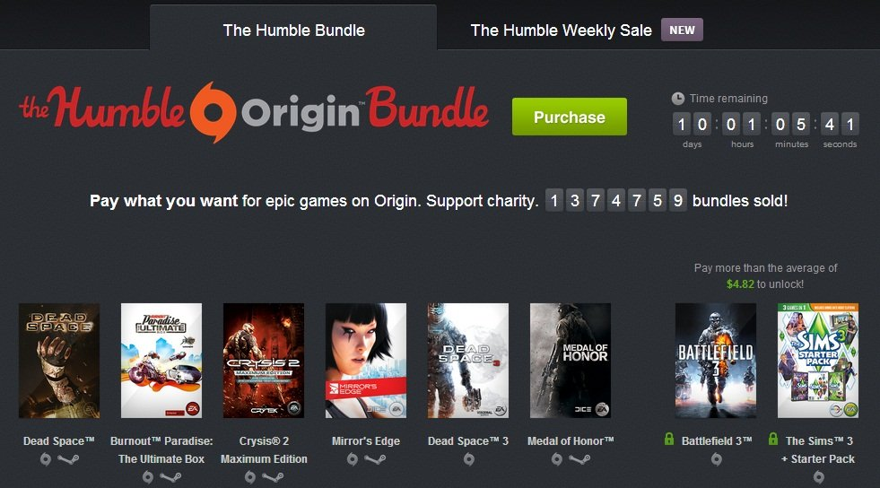 Humble Origin Bundle. Аттракцион невиданной щедрости или... | Канобу - Изображение 2