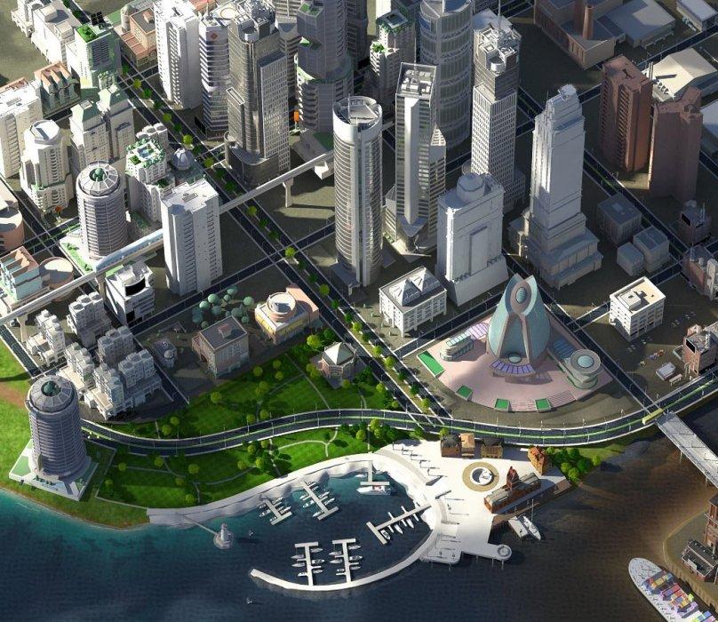 Обзор SimCity - рецензия на игру SimCity   Рецензии   Канобу