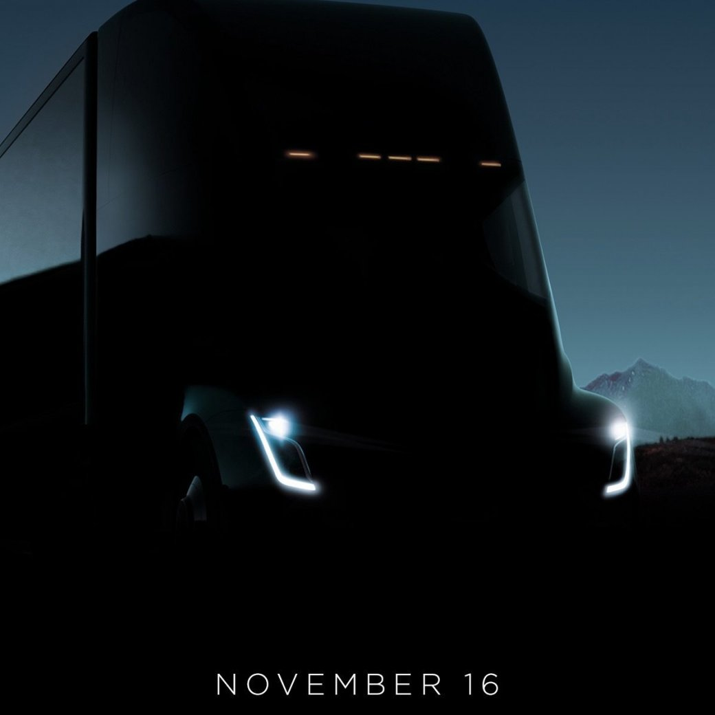 Илон Маск сказал, что электрогрузовик Tesla Semi «вынесет мозг». - Изображение 1