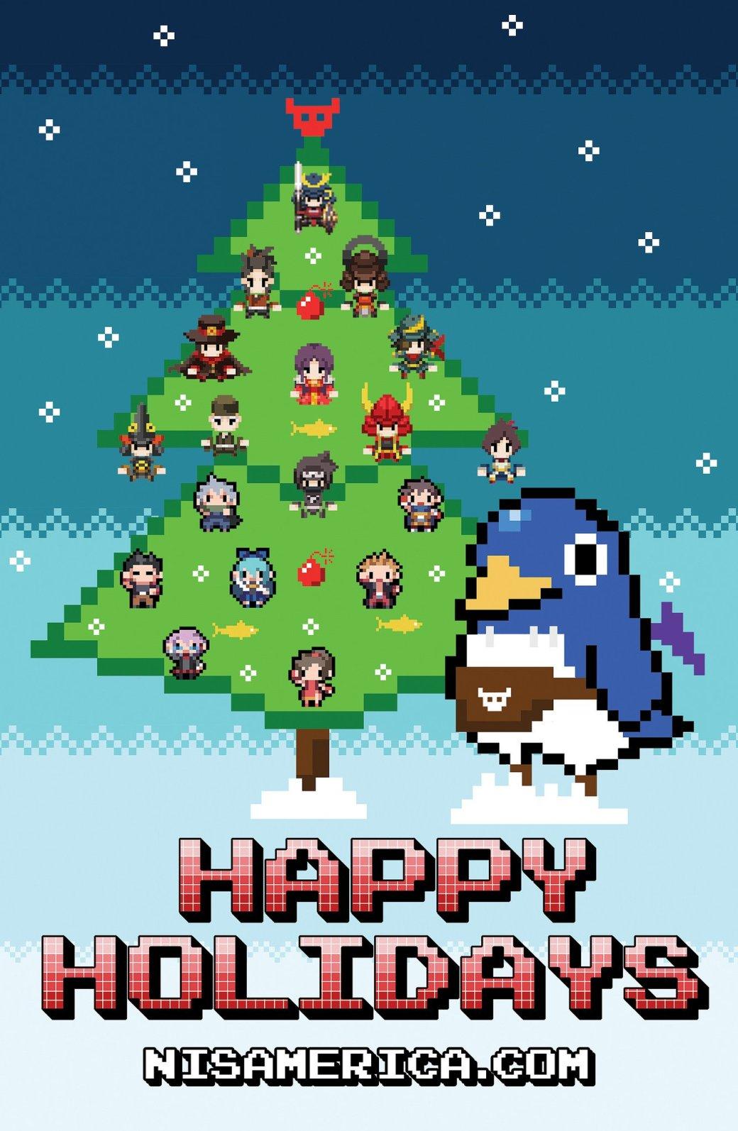 С праздниками! Разработчики поздравляют с Новым годом и Рождеством | Канобу - Изображение 13